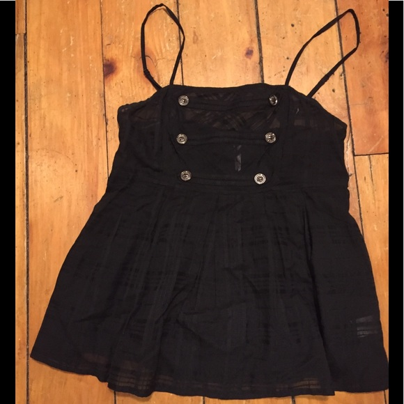 Event Tops - Event black tank top size S